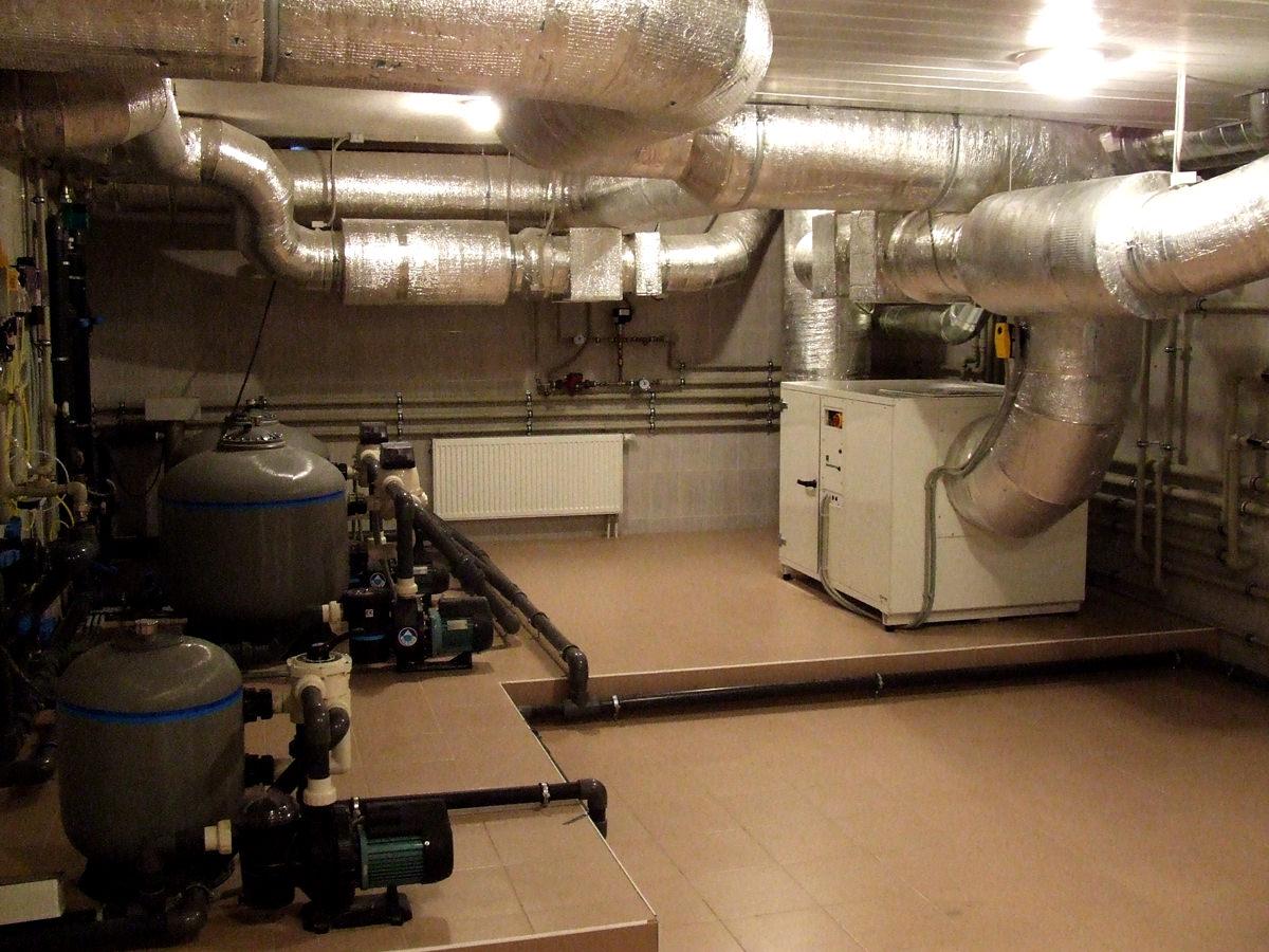 Оборудование для стационарных бассейнов: создание микроклимата в помещении