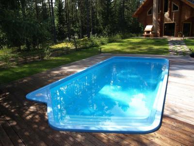 Основные преимущества пластиковых бассейнов и их оснащение