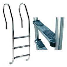 Лестница Mix со ступеньками Luxe, AISI-316