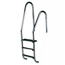 Лестница Standard асимметричная со ступеньками Luxe, AISI-316