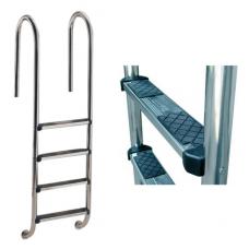Лестница Wall со ступеньками Luxe, AISI-316