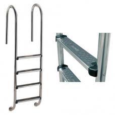Лестница Wall со ступеньками Standard, AISI-304