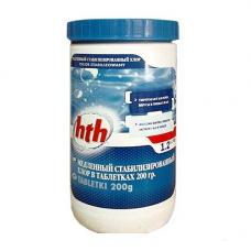 Медленный стабилизированный хлор в таблетках hth MAXITAB REGULAR